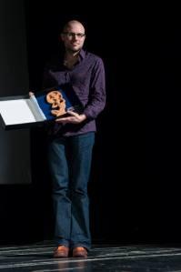 Balasz Simonyi ritira il premio per il miglior film