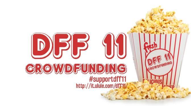 #SUPPORTDFF11 fundraising for Dieciminuti Film Festival!